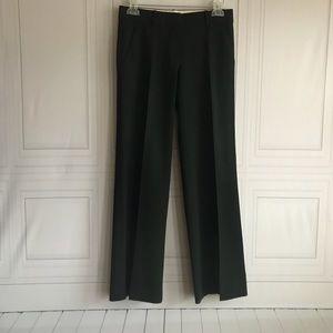 Theory Wool Blend Stretch Black Dress Pants sz 0
